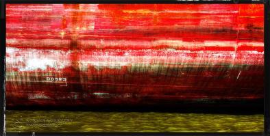 Bordwand in Rot   Panorama