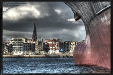 Dockside Licht des Hafens Hamburg III