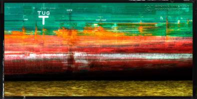 Bordwand Rot-Grün   Panorama