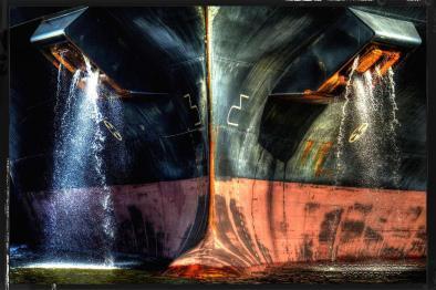 Dockside Licht des Hafens Hamburg II
