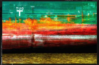 Bordwand Rot-Grün